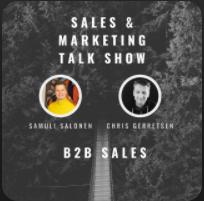 samuli salonen talk show Aexus. B2B saas sales and marketing